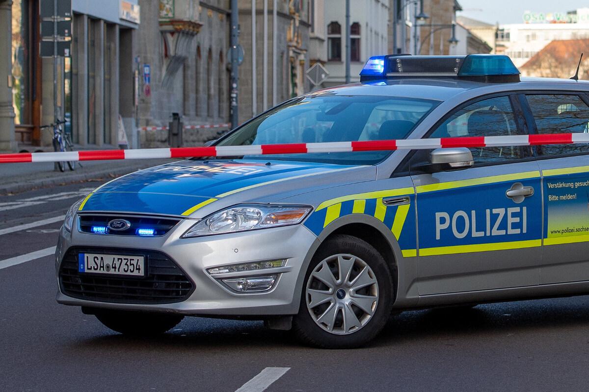 Schock in Halle: Bombendrohung gegen Unternehmen