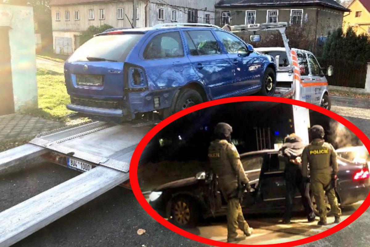 Polizei nimmt Autoschieberbande hoch: Täter klauten ein mindestens Dutzend Skodas in Ostsachsen