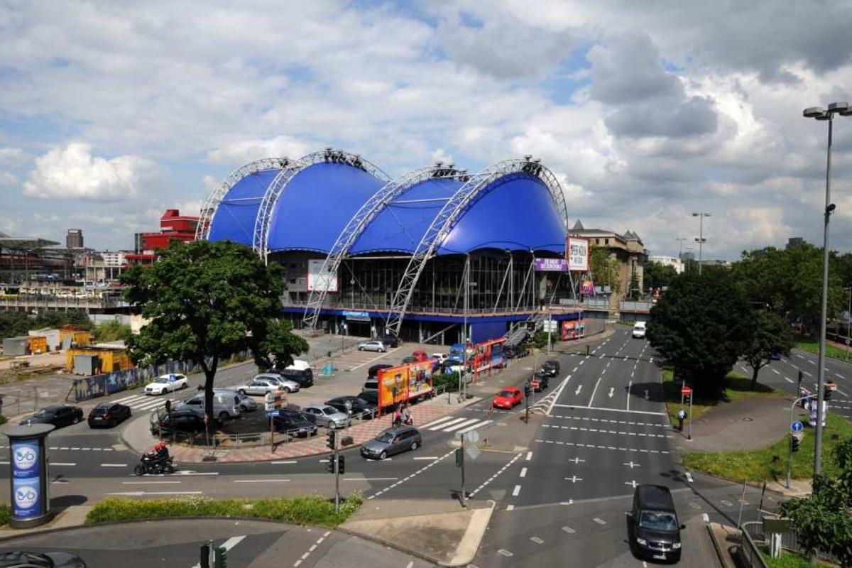 Blaues Zelt Köln