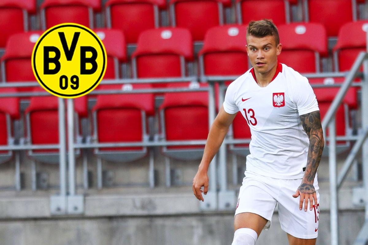 BVB an polnischer Abwehrkante dran! Schnappt sich Dortmund
