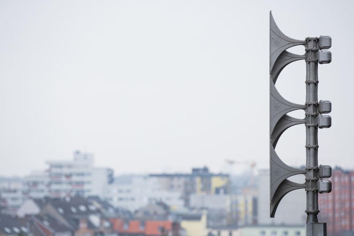 Sirenentest Düsseldorf