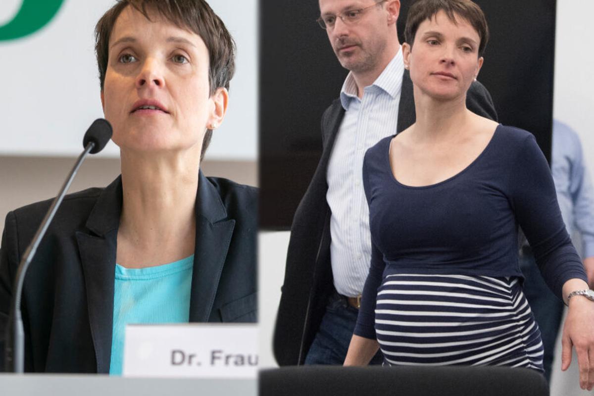 Petry nackt frauke afd Frauke Petry: