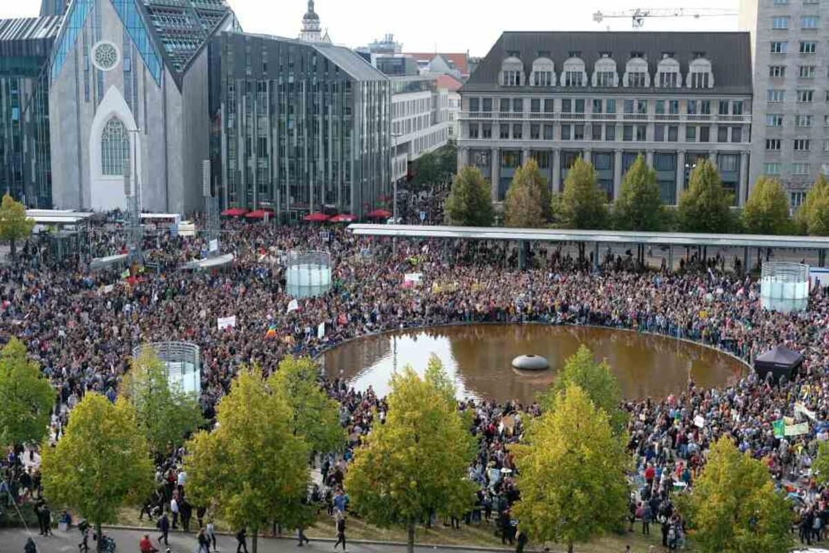 Leipzig Legida Demo Heute