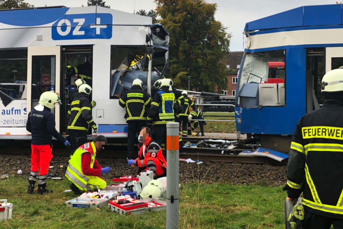 Straßenbahnunfall Darmstadt