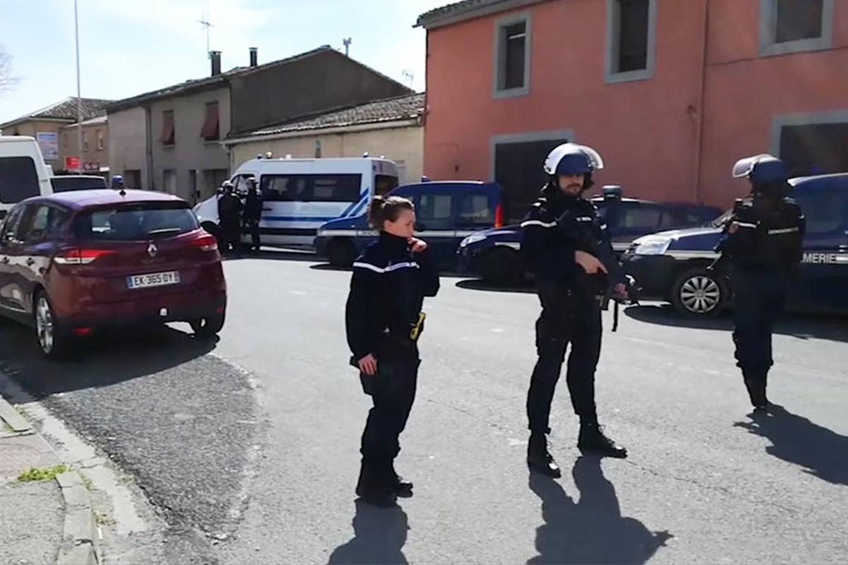 Frankreich Polizist
