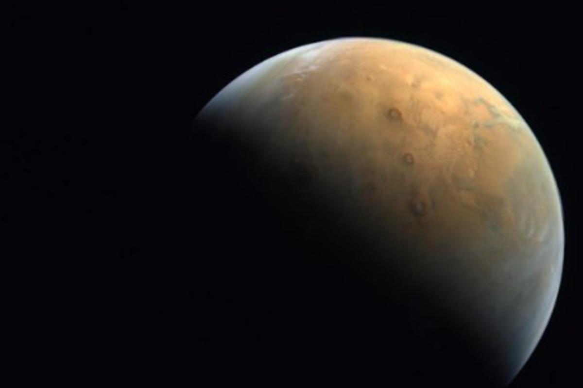 Fotos vom Mars! Raumsonde