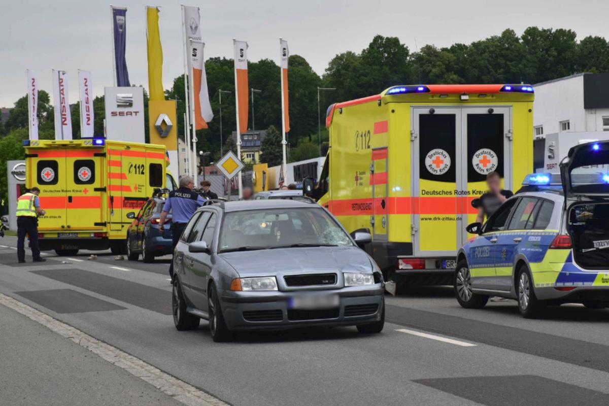Fußgängerin in Zittau tödlich von Auto erfasst