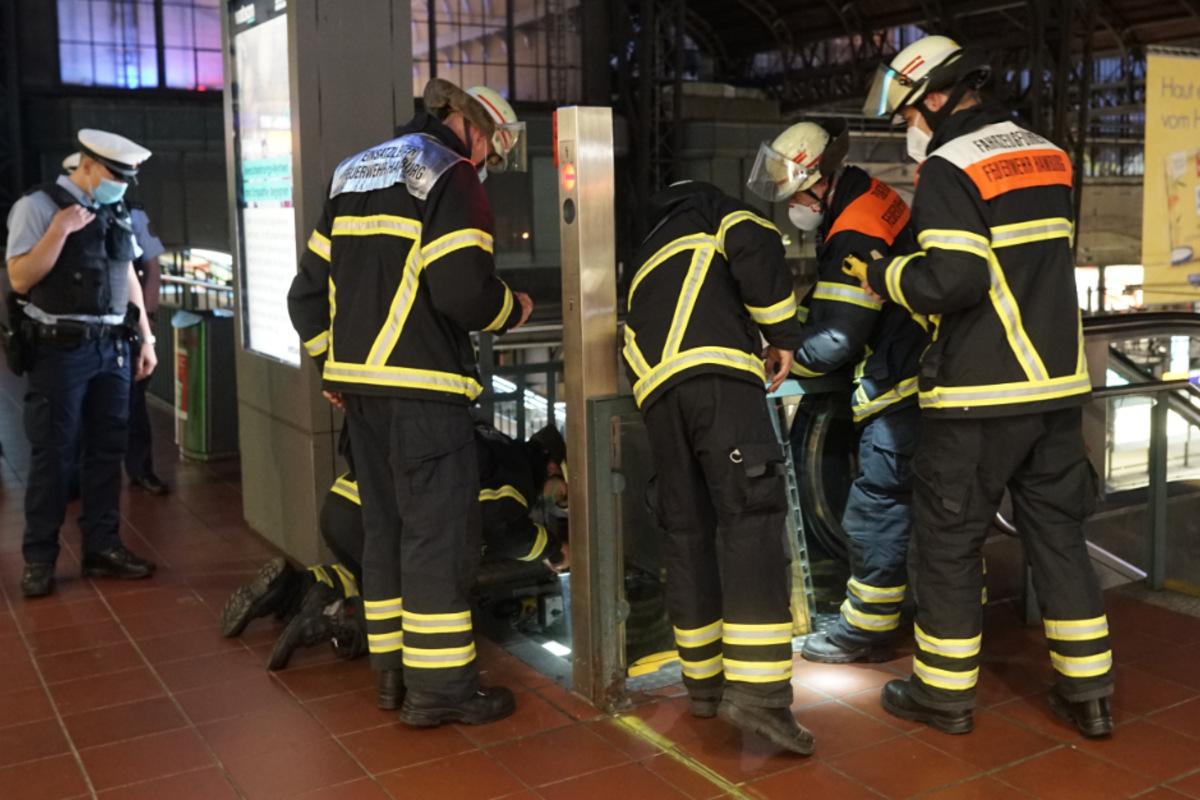 Feueralarm am Hauptbahnhof: Einsatzkräfte tappen im Dunkeln