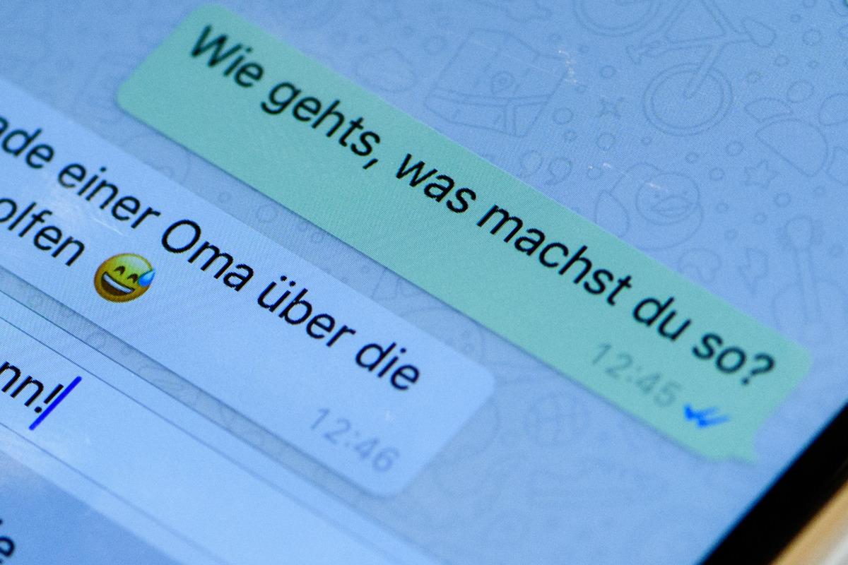 Aber haken 2 online blaue whatsapp nicht Whatsapp blaue