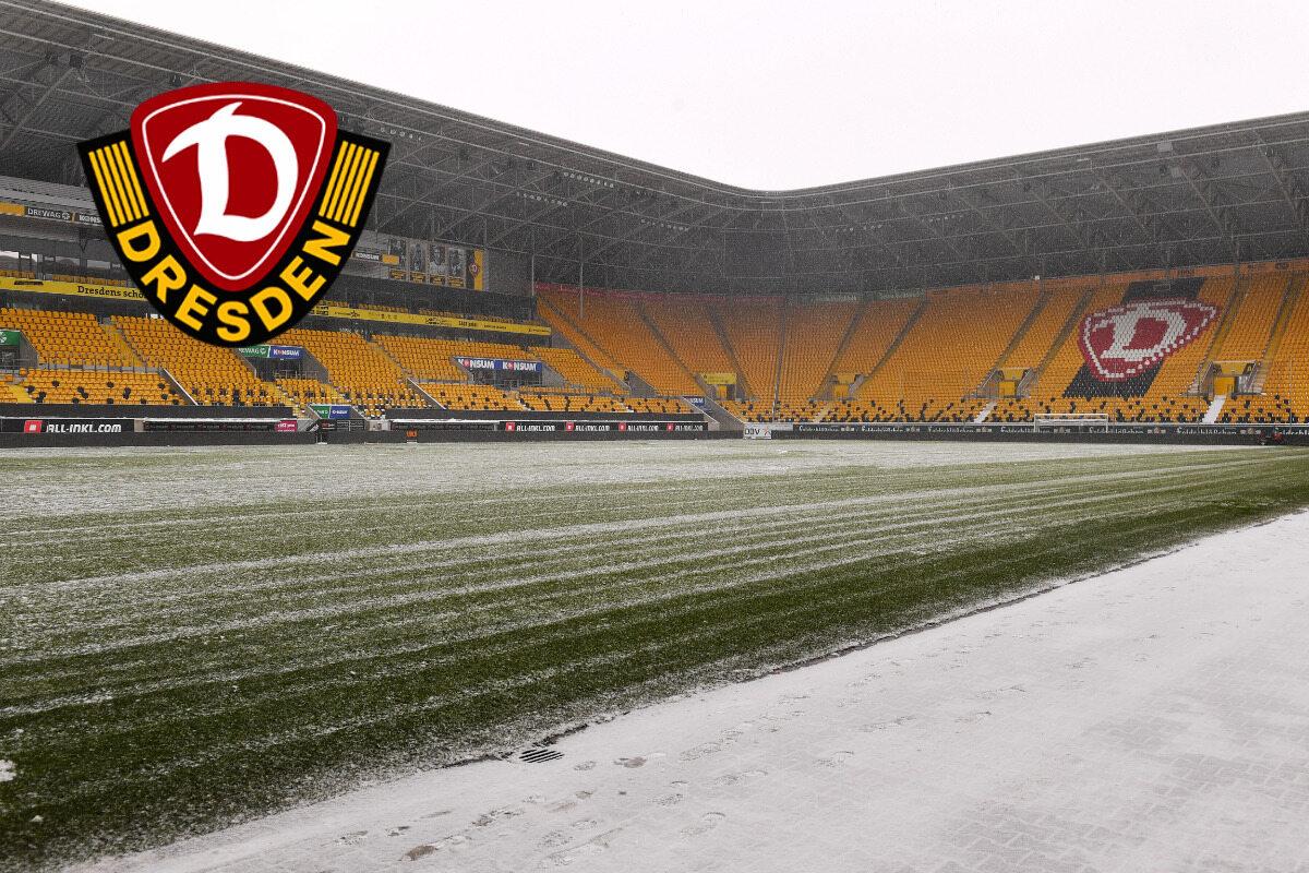TAG24 besichtigt den Rasen: So wird für Dynamo gegen Eis und Schnee gekämpft - TAG24