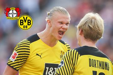 Tore satt in Leverkusen: BVB kontert dreifachen Rückstand