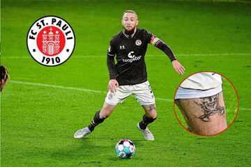 FC St. Pauli: Transfer von Marvin Knoll zu Hansa Rostock platzt wegen eines Tattoos