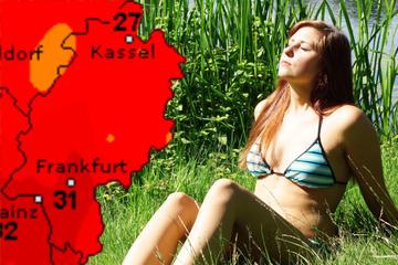 Sommer-Wetter in Frankfurt und Hessen: 30 Grad und mehr sind möglich
