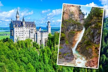 Dramatischer Rettungseinsatz: Kind (11) stürzt Wasserfall in Neuschwanstein-Nähe runter
