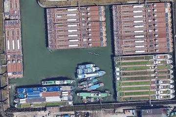 Einzigartige Aufnahmen zeigen Corona-Folgen in Hafenbecken!