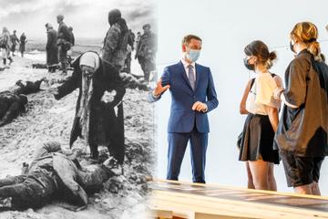 80 Jahre Überfall auf die Sowjetunion: MP Kretschmer diskutiert mit Schülern