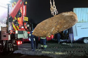 15 große Weltkriegsbomben in Hamburg entschärft