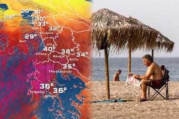 Wahnsinns-Hitze in Südosteuropa: Haben wir bald 41 Grad in Deutschland?