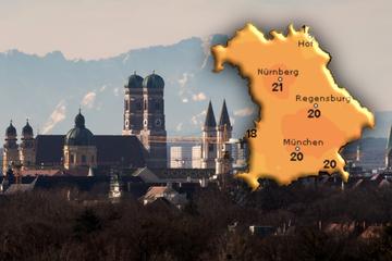 Bis zu 25 Grad! Föhn bringt sonniges Wetter nach München
