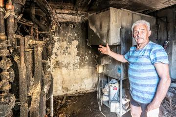 Klaus Wolf (69) ist seit 55 Jahren bei der Feuerwehr, plötzlich brennt sein eigenes Haus!