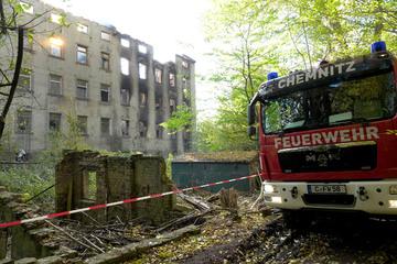 Chemnitz: Schon wieder Feuer in der Alten Spinnerei in Chemnitz
