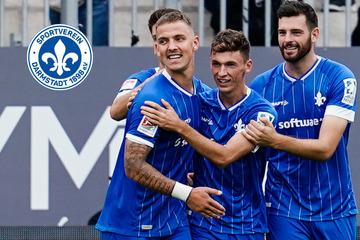 Sieben-Tore-Gala! Darmstadt 98 feiert Kantersieg gegen SV Sandhausen