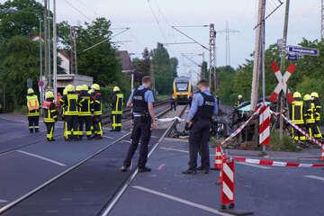 Frankfurt: 16-Jährige stirbt an Bahnübergang: Jetzt reagiert die Deutsche Bahn