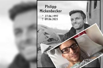 Kurz vor seinem Tod: Video zeigt Philipp Mickenbeckers letzte Worte vom Sterbebett