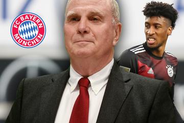 FC Bayern und die Verhandlungen mit Kingsley Coman: Das sagt Uli Hoeneß