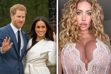Sex mit Royals? Ex-Playboy-Model wünscht sich Dreier mit Prinz Harry und Meghan