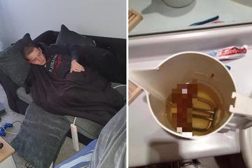 Betrunkener Einbrecher: Mann kotzt in fremde Küche und k*ckt in den Wasserkocher