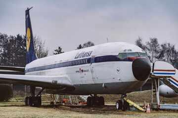 Gut 60 Jahre alte Boeing 707 wird in Hamburg zerlegt! Auktion startet demnächst