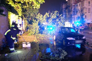 Starkregen und Gewitter: Dutzende Einsätze in Mittel- und Oberfranken
