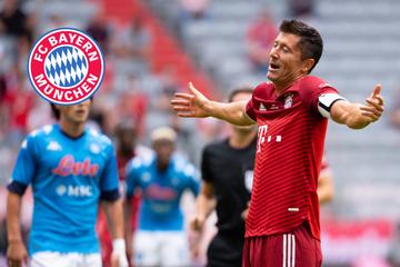 Nächste Testspiel-Watschn! FC Bayern verliert gegen Neapel und bangt um Coman