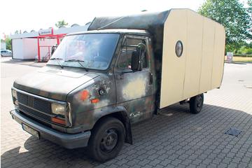 Da half auch die Tarnfarbe nichts: Polizei zieht Schrott-Camper aus dem Verkehr