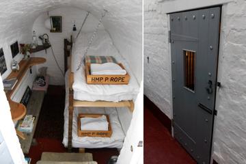 Urlaub hinter Gittern: Verrücktes Hotel bietet echtes Gefängnisfeeling