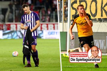 Dynamo meldet sich eindrucksvoll zurück, Aue verbessert, aber weiter sieglos!