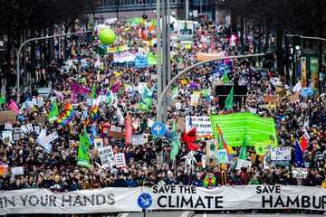 Hamburg: Fridays for Future plant Demo mit 2000 Menschen in Hamburg