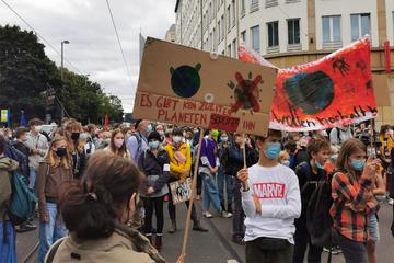 Großer Klimademo-Freitag in Leipzig: Schätzungsweise 15.000 Teilnehmer