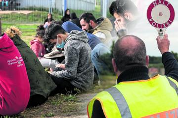 Flüchtlings-Zustrom aus Polen: Mehr Einreise-Kontrollen an der Grenze gefordert