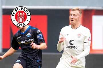 Trainingsschock beim FC St. Pauli: Lukas Daschner mit schwerer Knie-Verletzung