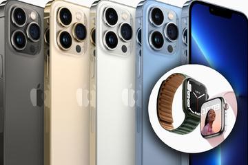 Endlich da! So sehen iPhone 13 und Apple Watch 7 aus
