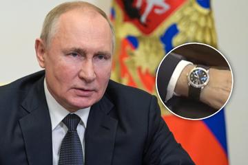 Ist diese Uhr der Beweis, dass Putin zu früh gewählt hat?