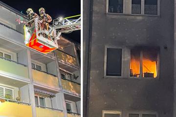 Berlin: Lebensretter: Nachbarn holen Frau aus brennender Küche
