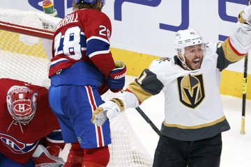 NHL Playoffs: The Knights tighten things up in game four to even the series against the Canadiens