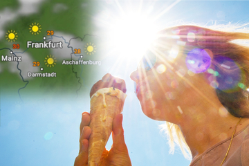 Bis zu 33 Grad und warme Nächte: Erste Hitzewelle trifft Hessen