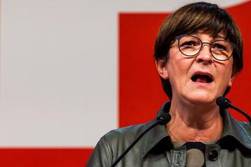 SPD-Vorsitzende Esken betont: Sondierungspapier ist nicht gelb!