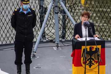 Deutsche Marine schickt erstmals seit 20 Jahren Fregatte in Indisch-Pazifischen Raum