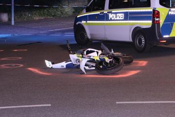 Schwerer Unfall nach Verfolgungsjagd: Motoradfahrer flüchtet vor Zivilstreife der Polizei