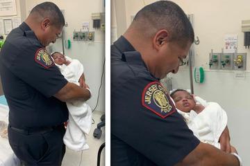 Mann wirft Baby vom Balkon: Polizist wird zum heldenhaften Retter!
